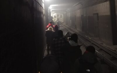TTC passengers evacuated from train after fire breaks out in subway tunnel