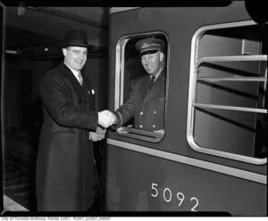 The First Subway Guard
